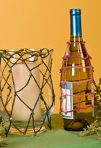 Bottle & Candle Covers Crochet Pattern Pattern
