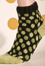 Polka Dot Socks Pattern Pattern