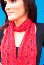 Leaf Lace Scarf Pattern