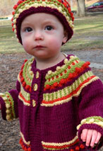 Norah's Joyful Sweater & Hat Pattern