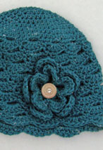 On The Go Cloche Crochet Hat Pattern