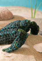 Mbé the Leatherback Sea Turtle Crochet Toy Pattern