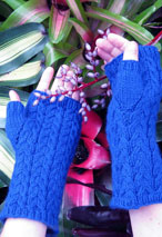 Wild Cherry Bark Mitts Pattern