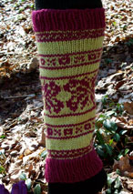 Butterflies & Kisses Leg Warmers Pattern