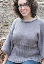 Maggie Grey Sweater Pattern