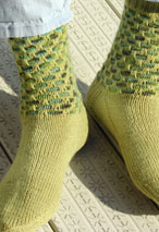 Snakeskin Socks Pattern