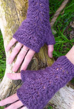 Kensington Fingerless Gloves Pattern Pattern