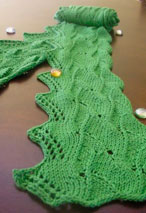 Morning Dew Scarf Pattern