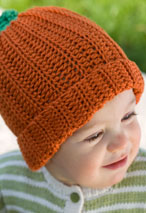 My Little Pumpkin Crochet Baby Hat & Booties Pattern