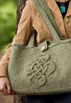 Viking Cable Bag Pattern
