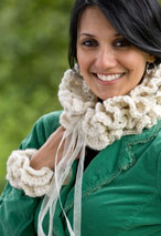 Dorrit Collar &Ruffled Cuffs Crochet Pattern Pattern