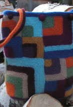 Mitered Square Quilt Tote Pattern Pattern