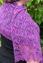 Gable Scarf or Stole Pattern