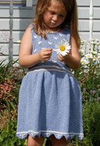 Summer Daisies Dress Pattern