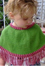 Child's Mini Poncho Pattern