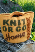 Knit or Go Home Bag Pattern