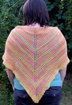 Sunkissed Shawl Pattern