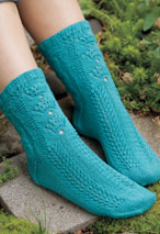 Sea Shell Socks Pattern