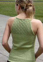 Lace Back Tank Pattern