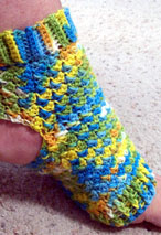 Pilates Peds (Crochet Yoga Socks) Pattern