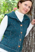 Inside Out Vest Pattern