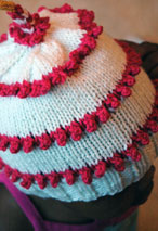 First Year Birthday Cake Hat Pattern