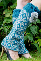 Starry Night Legwarmers Pattern