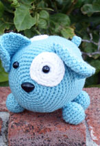 Roly Poly Doggy Crochet Amigurumi Pattern