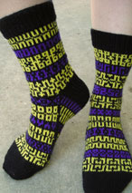 Mix it Up Pattern Socks Pattern