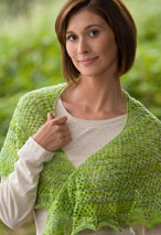 Crescent Meadow Shoulder Shawl Pattern