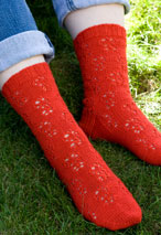 Ribbon Socks Pattern