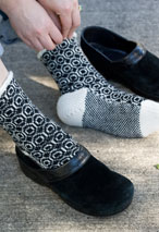 Crop Circles Socks Pattern