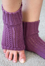 Horseshoe Pedi Sox Pattern