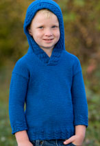Blue Jean Child Hoodie Pattern