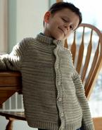 Alvin Child Sweater Pattern