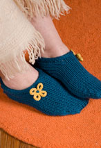 Two Hour Toe Up Slippers Pattern Pattern