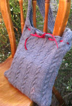 Sylvan Rain Purse Pattern