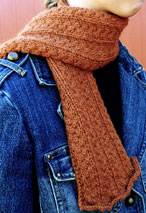 Delicate: Dutch Braids Neck Warmer Pattern