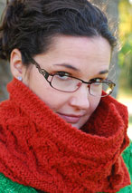 Button Cowl Pattern
