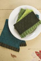 Colorblock Tea Towel Set Pattern