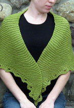 Gentle:  Reversible Shawl Pattern