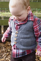 Pepo Pie Child Waistcoat Vest Pattern