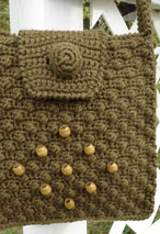 Cobblestone Crochet Shoulder Bag Pattern