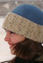 Felted Hat with 4 Brims Variations Pattern
