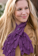 Grape Vine Scarf Pattern