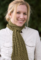 The Triple Lace Scarf Pattern