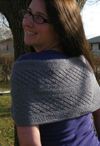 Lace Mobius Wrap Pattern