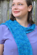 Upstream Scarf Pattern