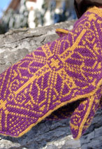 Regal Mittens Pattern