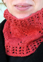 Winter Vine Cowl in Three Sizes Pattern